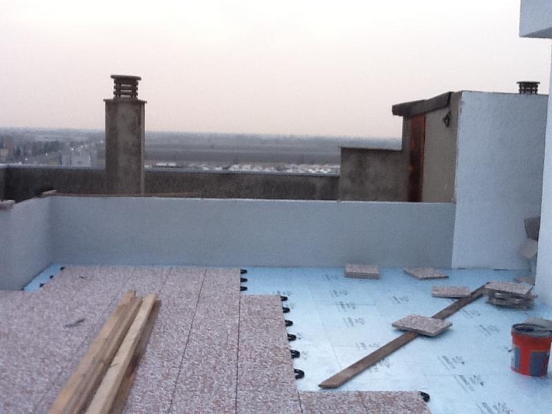 Impermeabilizzazione e pavimentazione terrazzo